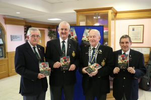 Members of the Dungannon/Moy Branch of The Royal British Legion: