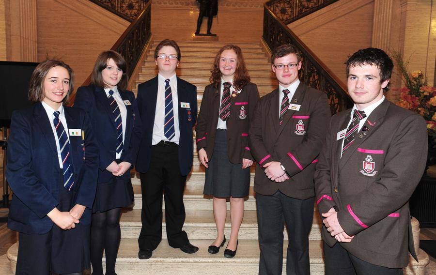 RSD pupils set the EU Agenda at Stormont