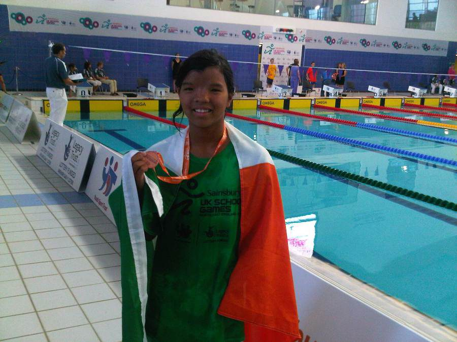 Medal-winning Namphon delighted with performance at UK School Games