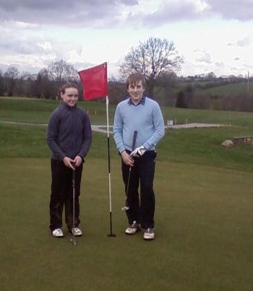 Golf team off to flying start