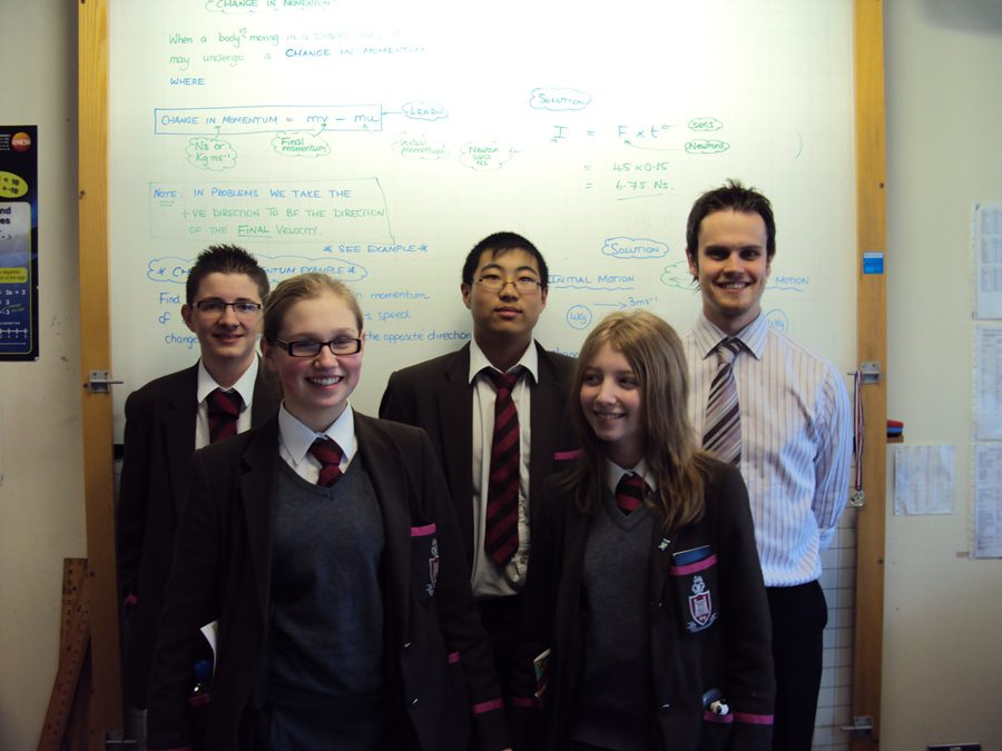 Strong performance from Junior Maths Team