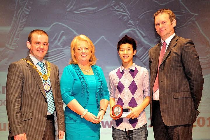 Norman Lau wins Sports Personality Award