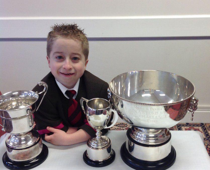 Multiple awards for James at Dungannon Festival