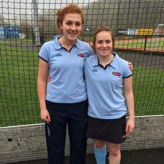 Hockey success for Samantha and Hannah