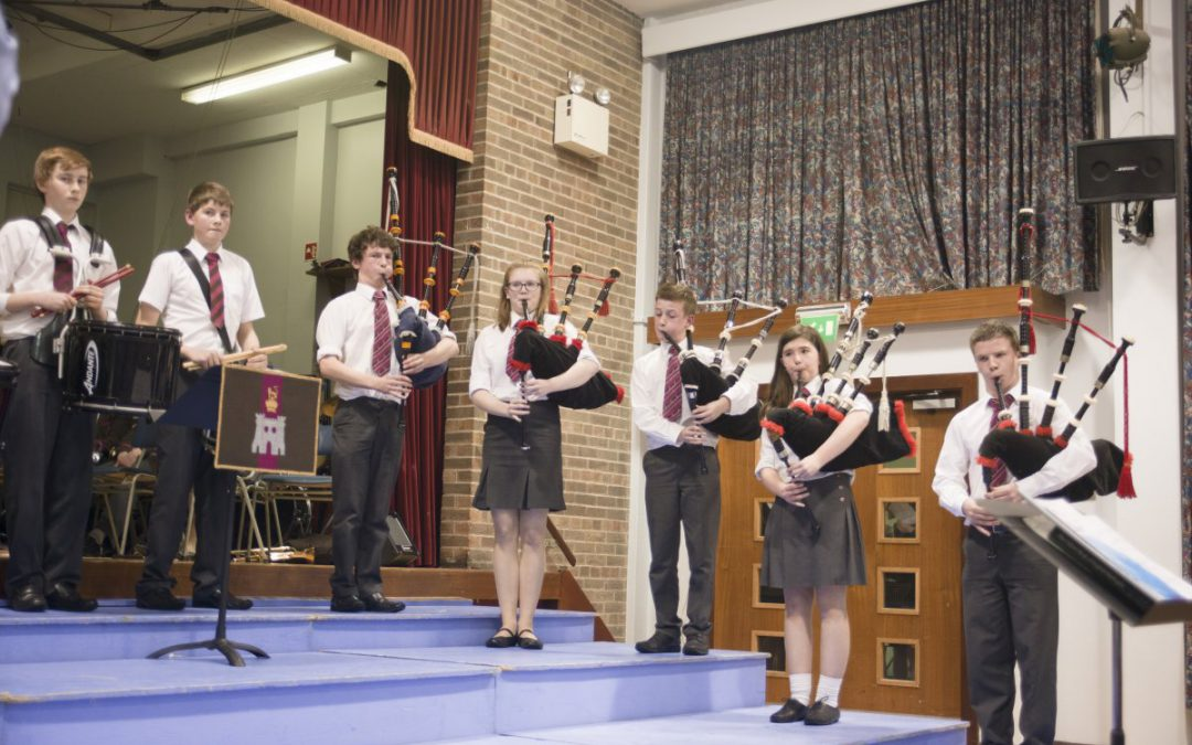All-new RSD Pipe Band thriving