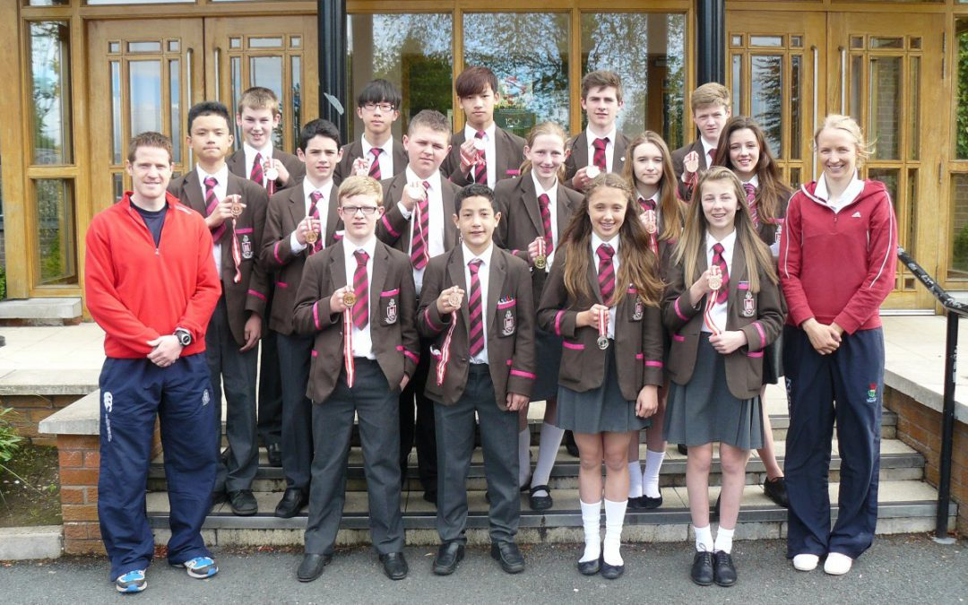 District Athletics – Impressive haul of medals from RSD's star athletes
