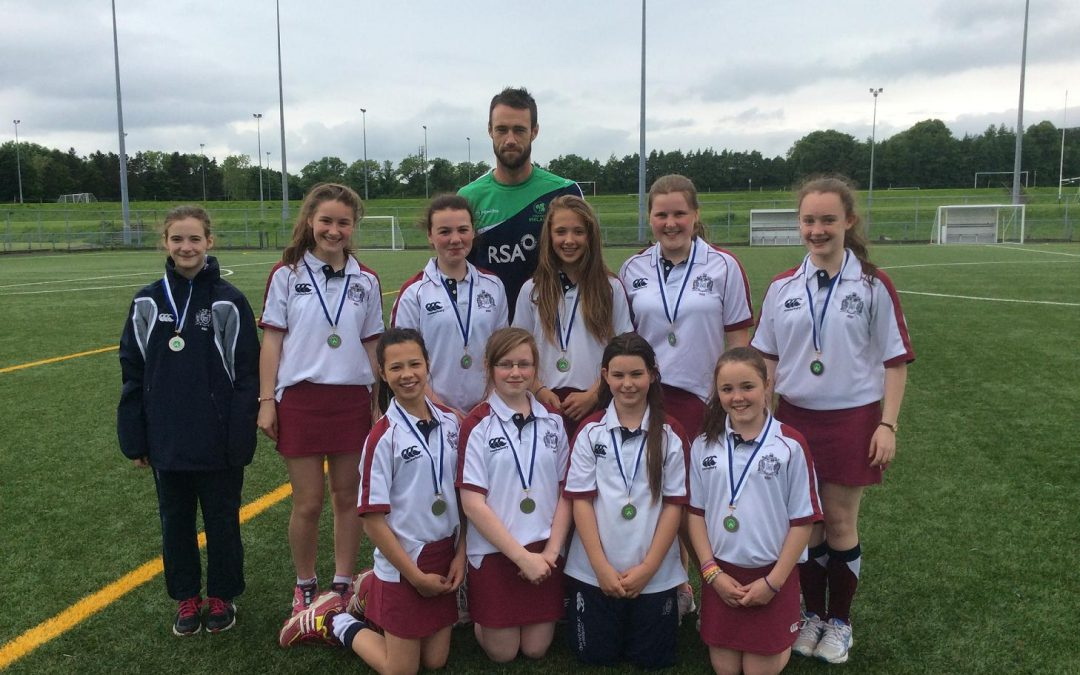 Junior Girls cricket team shows impressive form at Super 8s competition