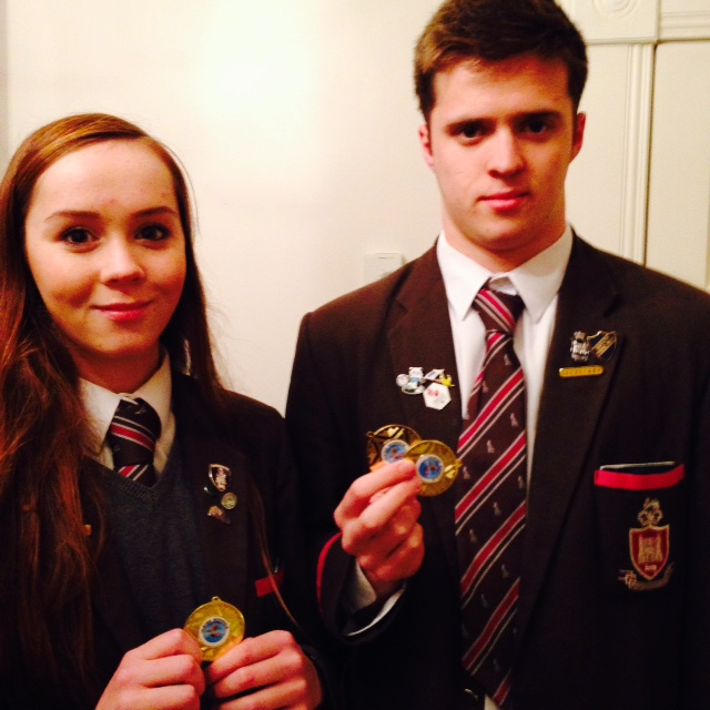 Ulster Swimming Championships – Gold for Erin and Calum