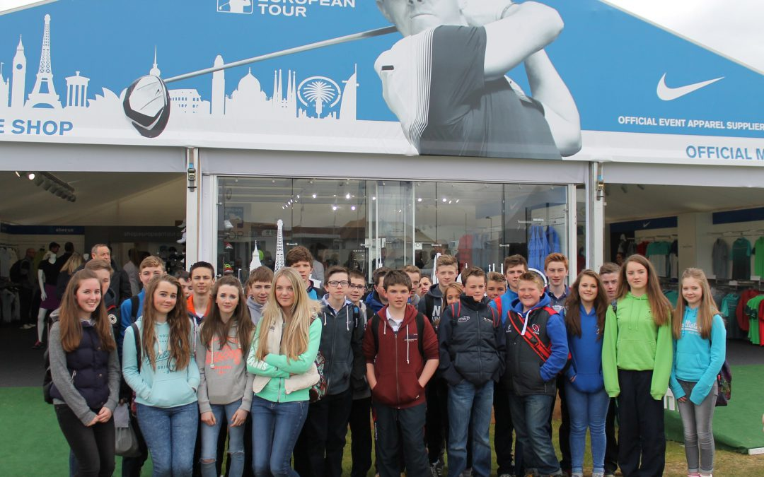 RSD pupils enjoy day out at Irish Open Pro-Am