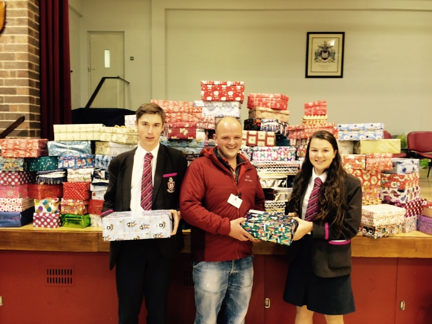 Shoe Box Appeal 2015: record-breaking contributions