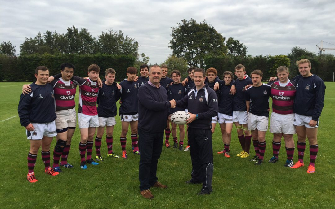 Ballygawley Presbyterian supporting RSD Rugby