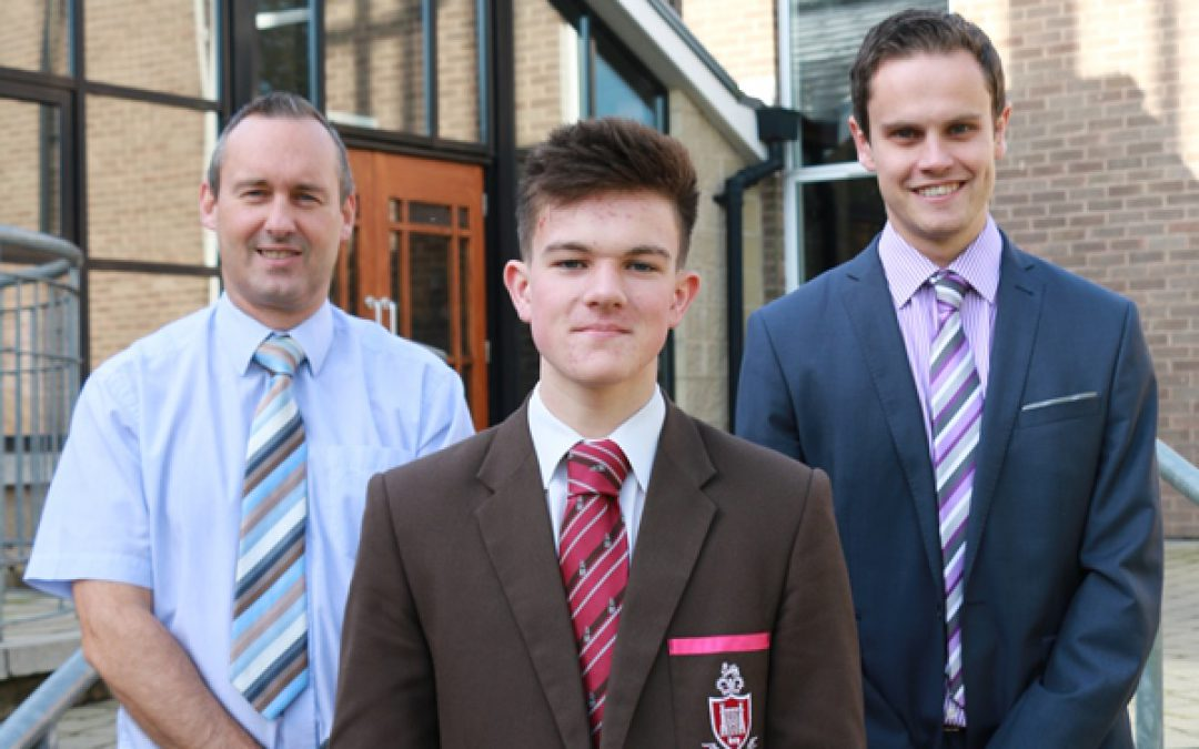 GCSE examination success for Ben Nicholl (Year 13)