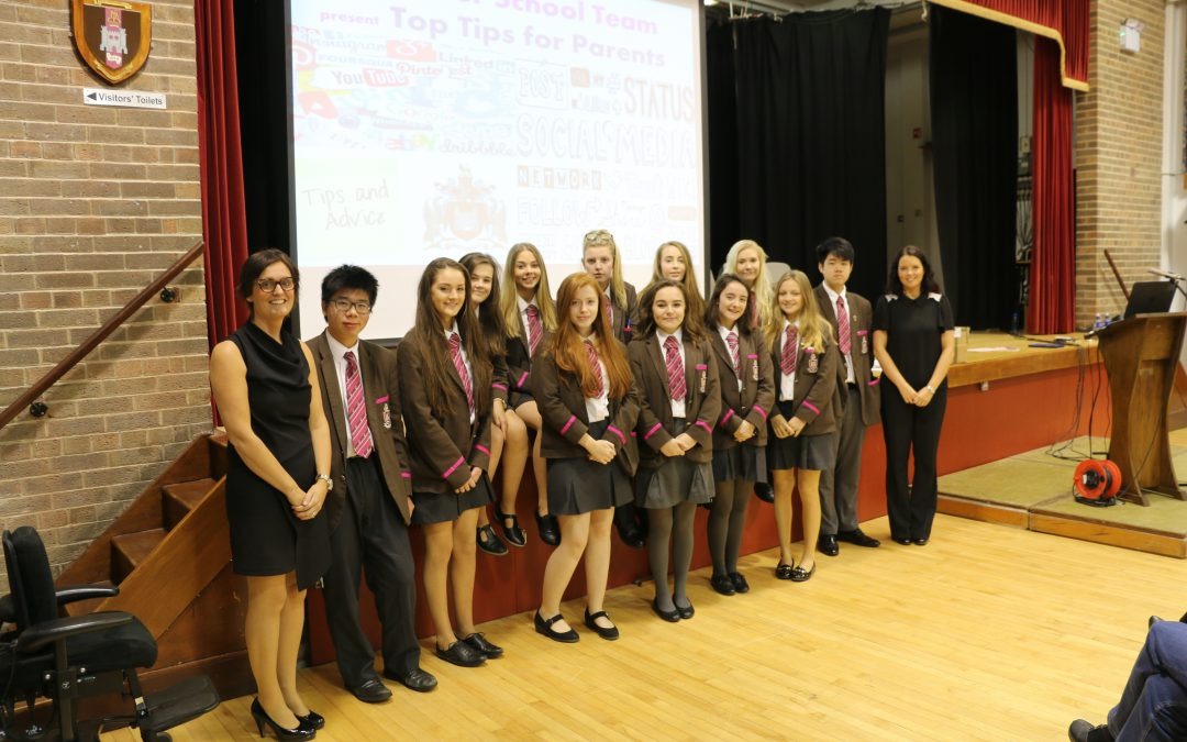 Top tips for parents at hugely successful first e-safety event