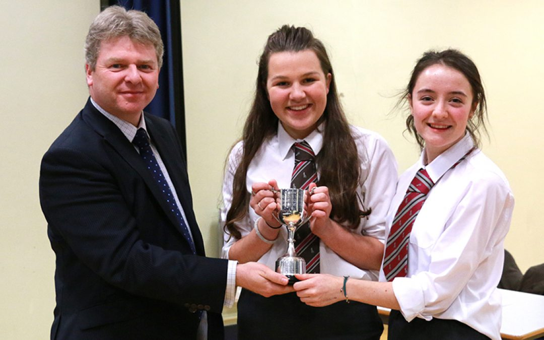 Victory for RSD at 1608 Debating Competition