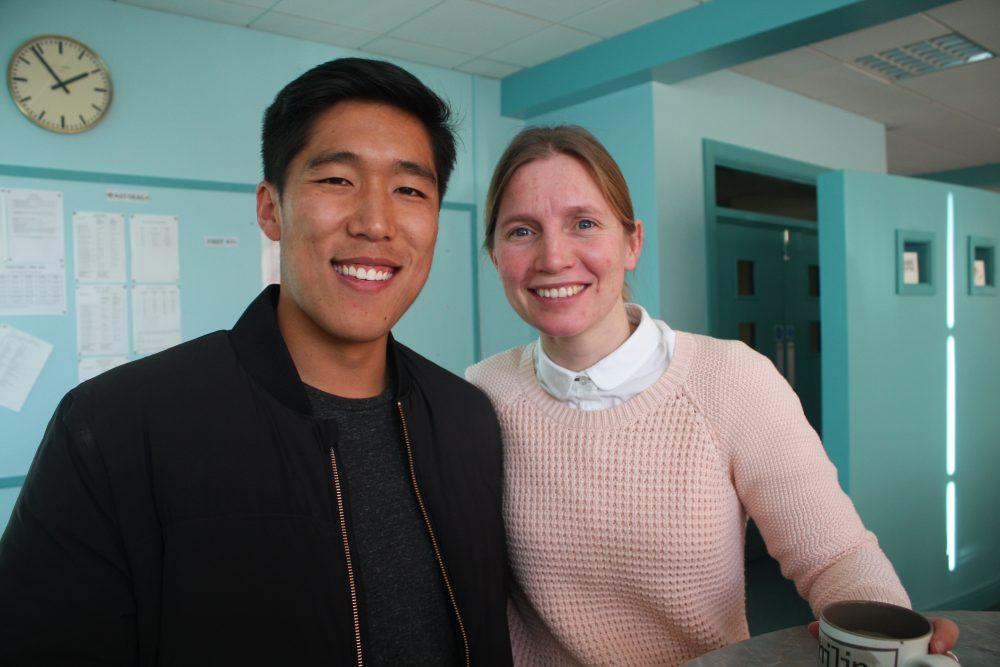 Ethan Au visits RSD