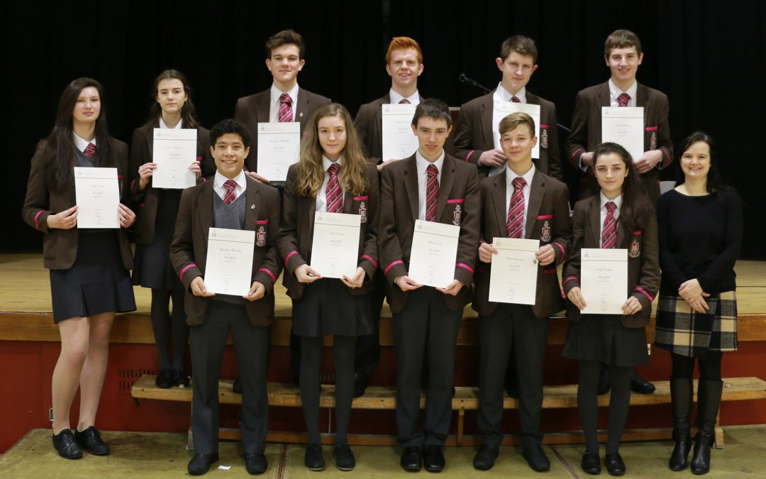 Silver Duke of Edinburgh's Award achievers
