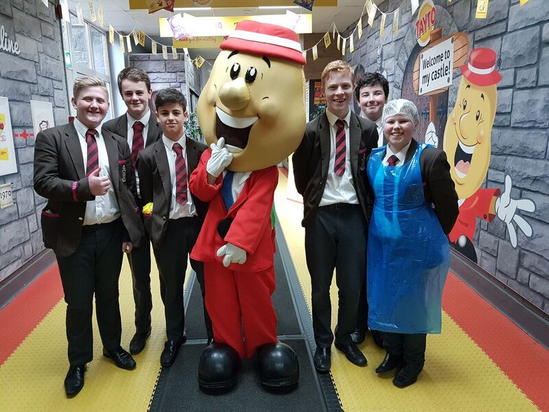 Year 10 Tayto Trip with FT