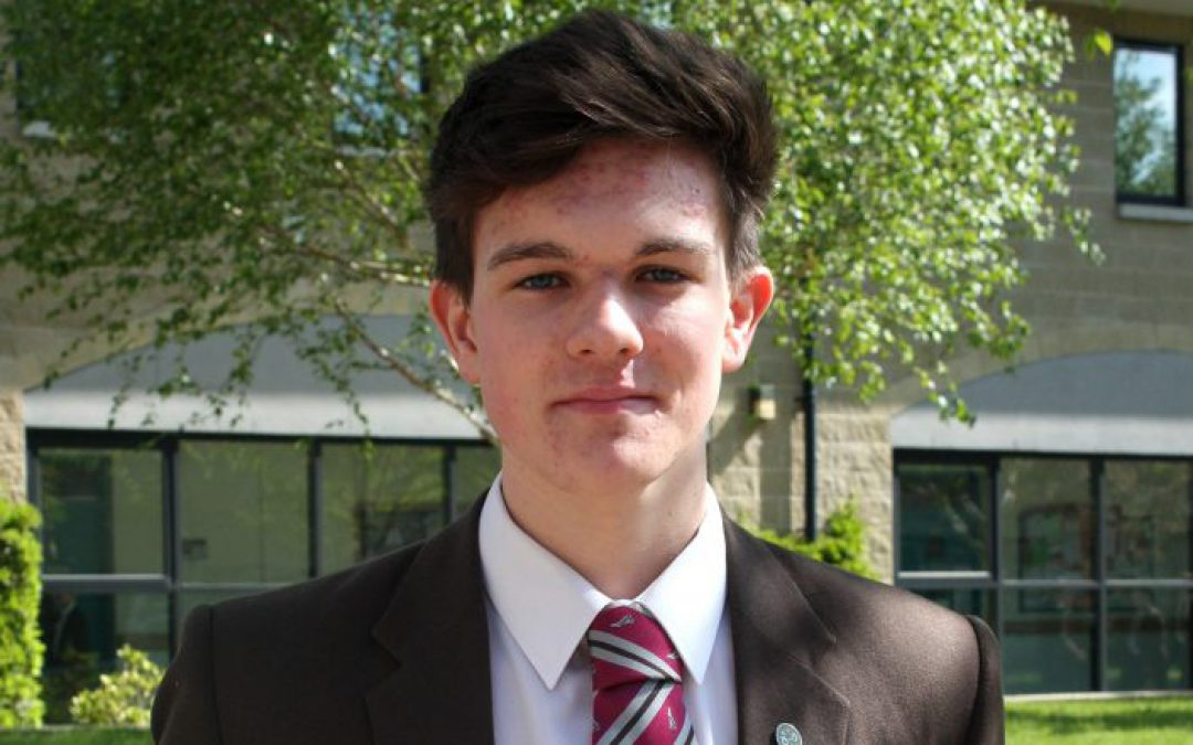 Ben Nicholl 'Celebrates with CCEA'