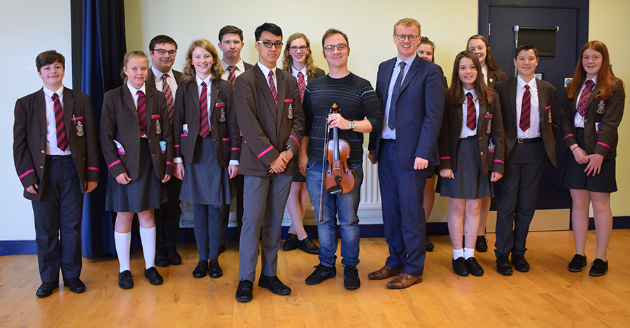 Ulster Orchestra Masterclass
