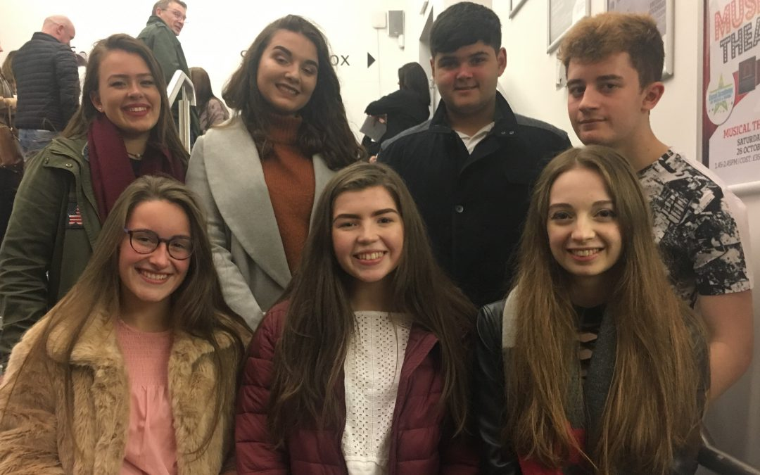 A Level English students enjoy Bardic Theatre show