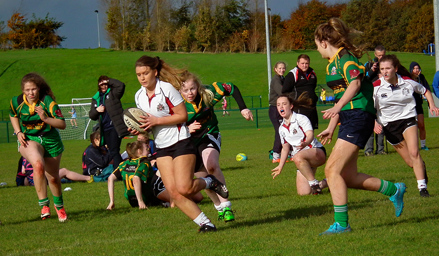 RSD Girls Rugby 7s team qualifies for All-Ireland Competition