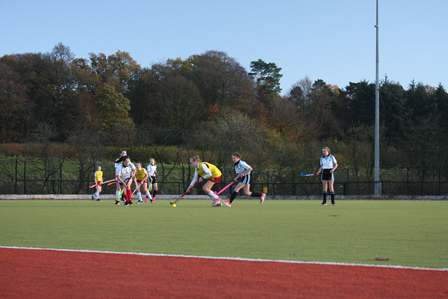 RSD Girls U14B hockey team defeat Drumglass High School