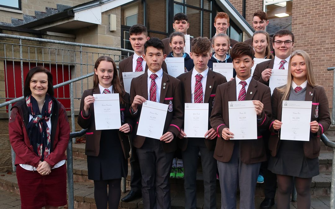 Duke of Edinburgh's Award: Silver recipients
