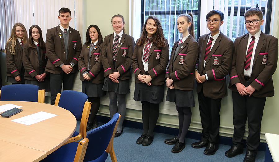 Pupil Leadership Team 2017/ 2018