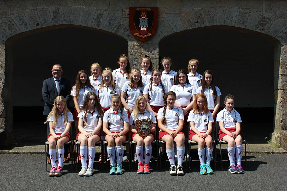 U13 Hockey Girls Win Mid-Ulster League