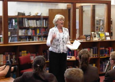 Mrs-Hobson Visit