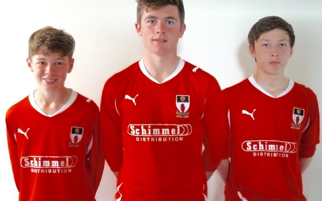 Milk Cup selection for four RSD boys