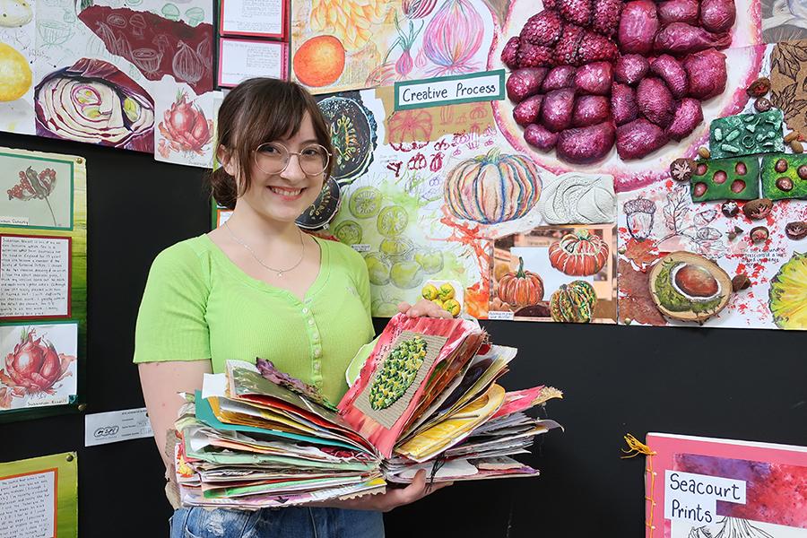 GCSE & A Level Art Exhibitions