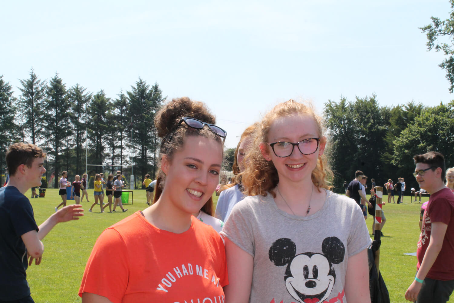15. Beth Johnston and Hannah Watt (Year 11)