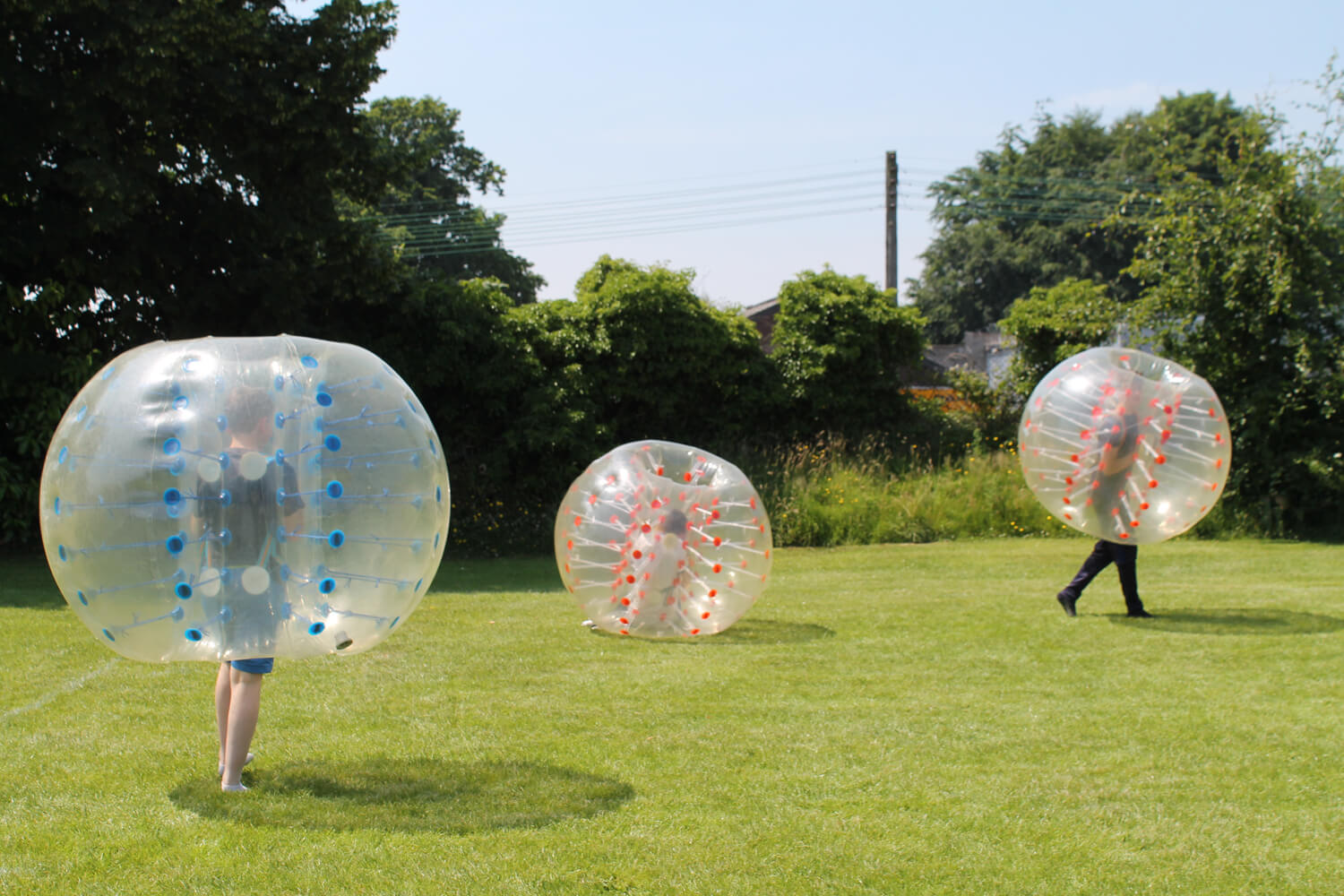16. Bubble Football