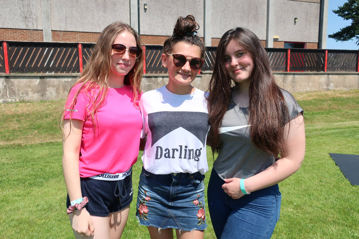 9.Ellie Wilkinson, Catherine McCammon and Sarah Thompson (all Year 10)