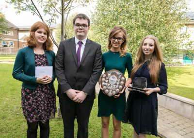 13. Leavers - Rachel Burrows, Jack Cochrane, Katrina Cuddy and Amy Burnett RSD Prize Day 2016-255