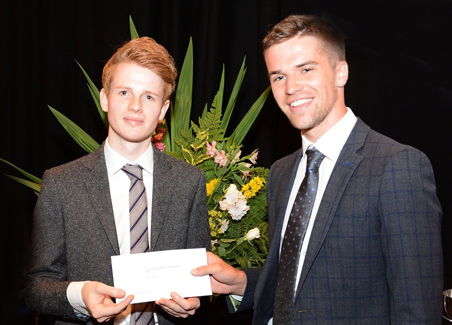 Past pupil Adam Willis takes top award at Stranmillis