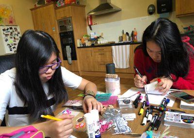 Weekend activities - arts _ crafts