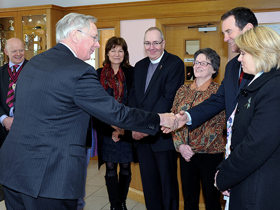Governors meeting the Duke