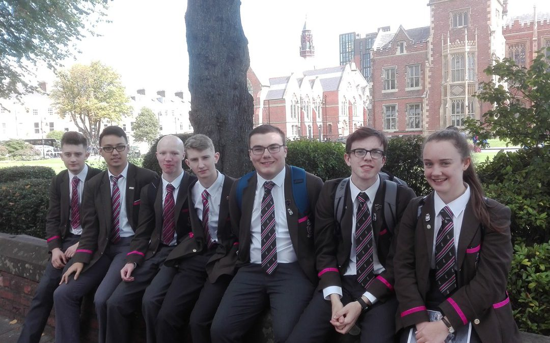 Sixth Form pupils visit QUB and UU Open Days