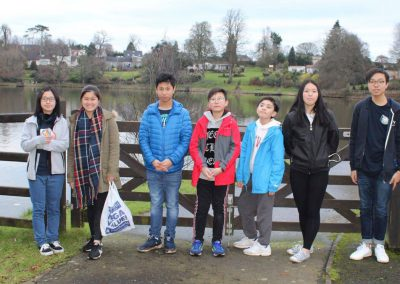Trips to feed the ducks at Dungannon Park