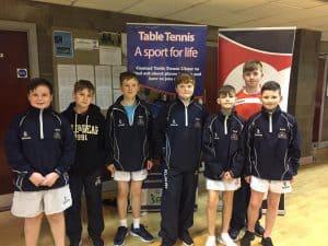 Table Tennis Boys