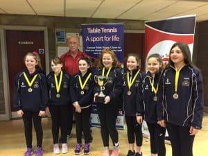 Table Tennis U13 Win