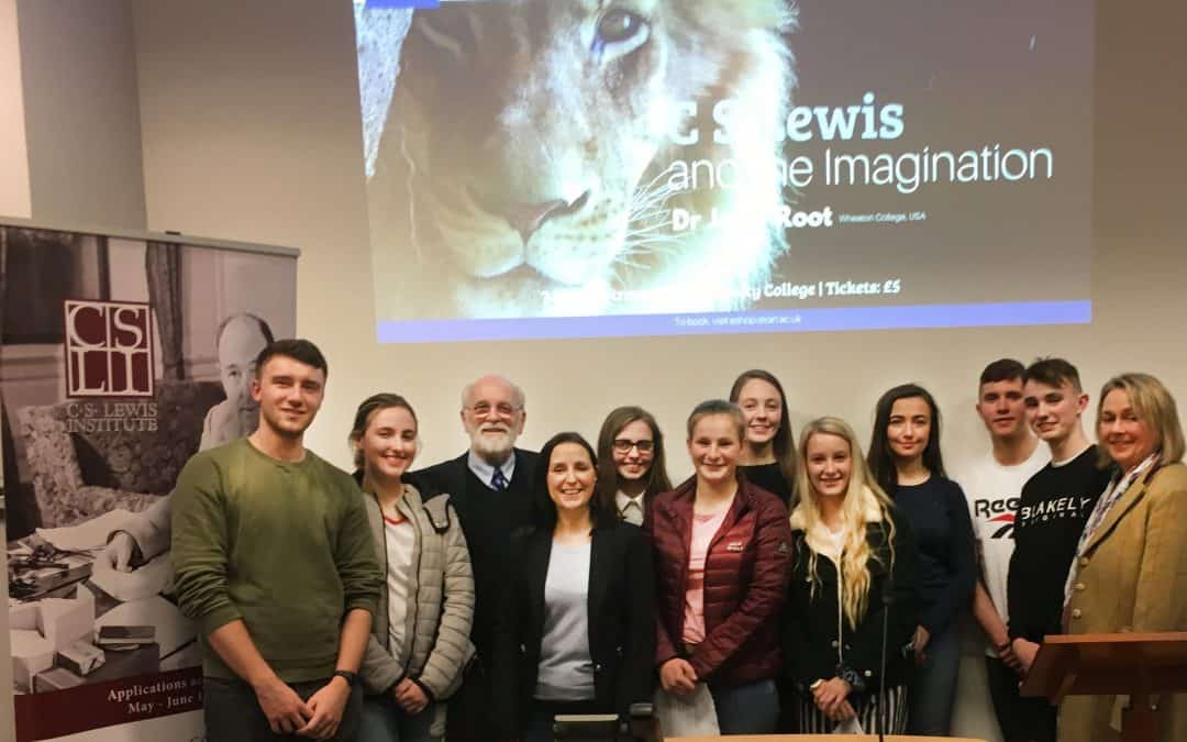 Sixth Form RE pupils attend CS Lewis Lecture
