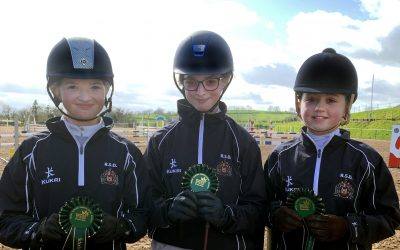 First place for RSD's Show Jumping team