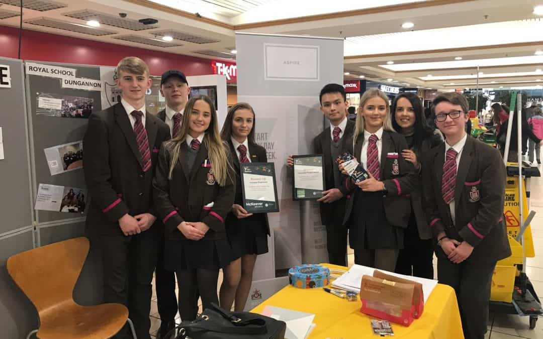 Young Enterprise team Aspire win 'Innovative Product Award' and 'Runner Up Company'