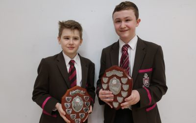 Daniel and Tom win Ulster Schools' Table Tennis Championships