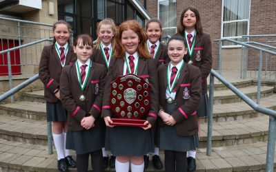 U13 Girls win All Ireland Table Tennis Championship
