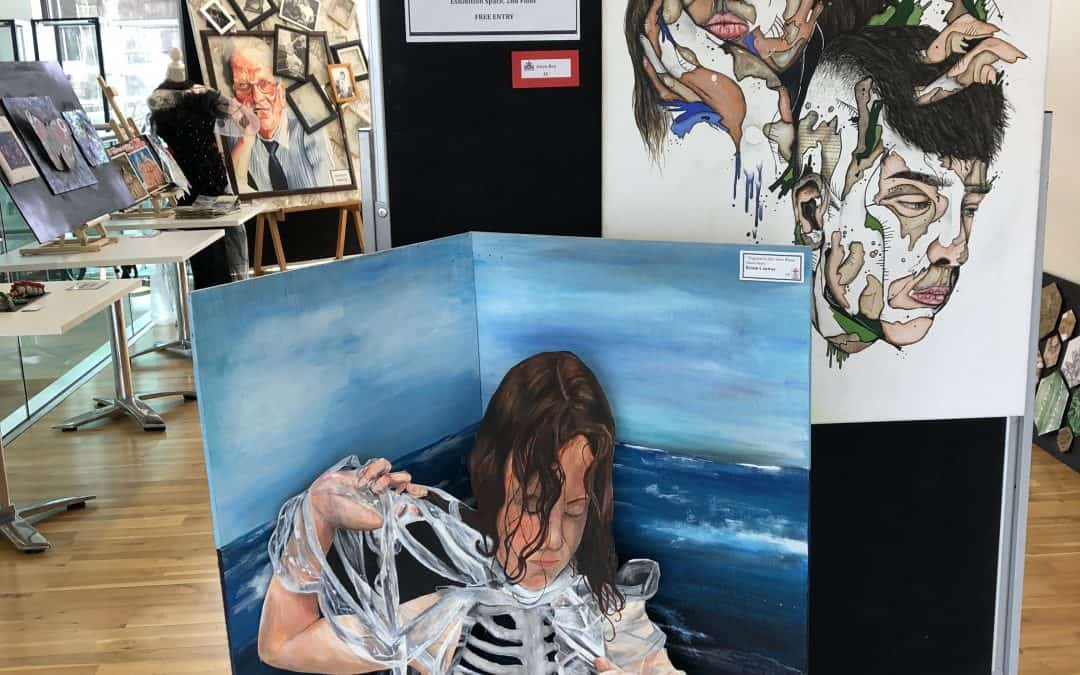 Art exhibition at Ranfurly House