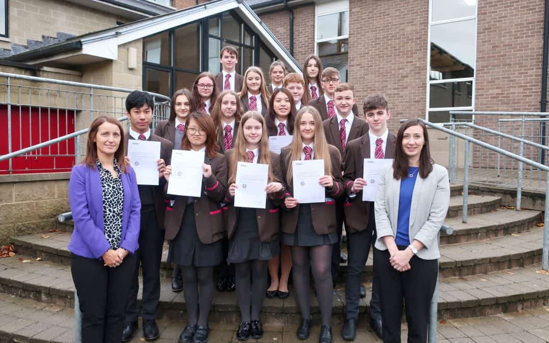 Linguists Awarded Certificates from Mester Language Academy